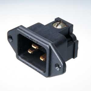 Furutech FI-33 Gold 16 Amp IEC Inlet
