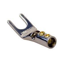 Furutech FP-201 Rhodium Plated Spade Connectors