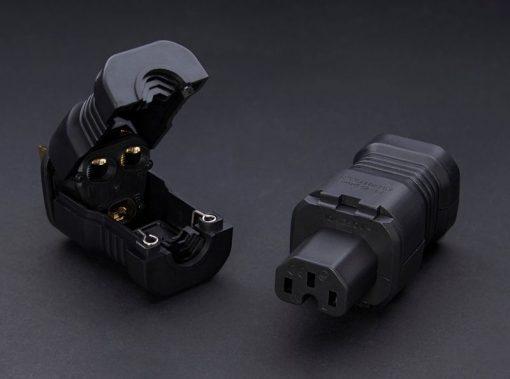 Furutech FI-15 Plus Rhodium-Plated IEC Connector