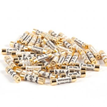 Bussmann Gold Plated Audio Grade Plug Fuses