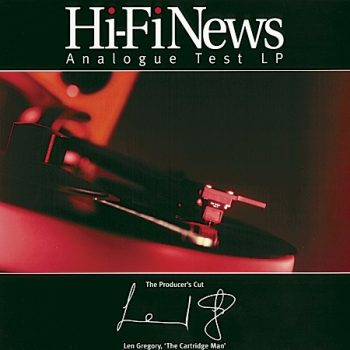 HI-Fi News Analogue Test LP