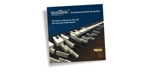 Isotek Ultimate System Set Up Disc