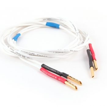 Black Rhodium Twist Speaker Cables Terminated