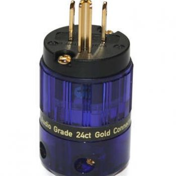 Isotek EVO3 Gold Plated USA Mains Plug