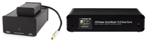 Linear Power Supply for DSPeaker Anti-Mode 2.0 Dual Core DAC