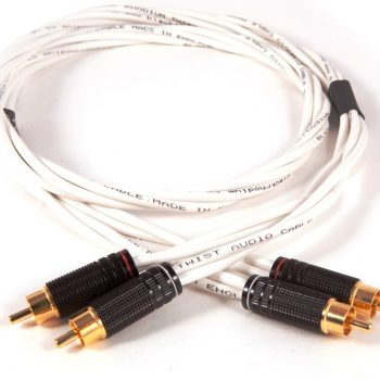 Black Rhodium Twist Stereo Interconnects