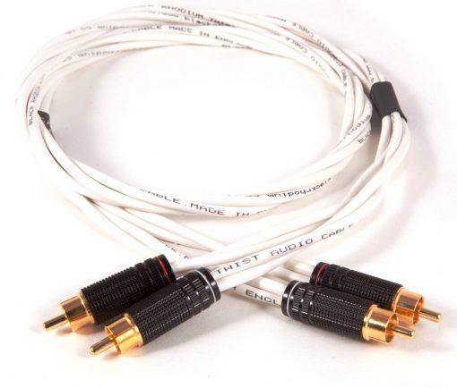 Black Rhodium Twist Stereo Interconnects