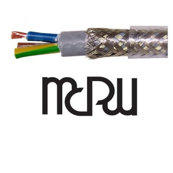 MCRU Audiophile 4mm Mains Cable per Metre