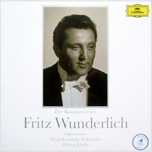 Deutsche Grammophon Fritz Wunderlich – Der Kammersänger