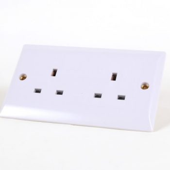 Rhodium Plated Audio Grade Wall Socket