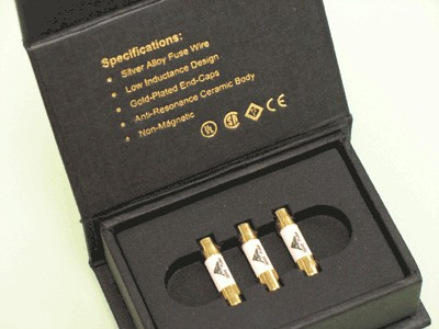 AMR 3 AMP Gold Plated Audiophile Fuse