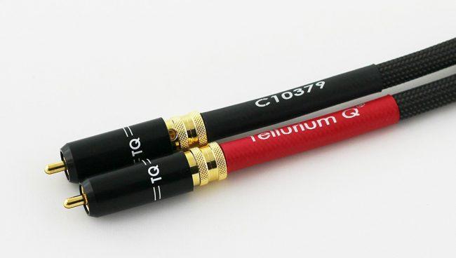 Tellurium Q Black Diamond RCA Interconnect Cables