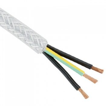 MCRU 10mm sq Shielded Mains Spur Cable