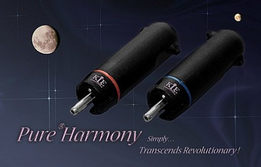 KLE Innovations Pure Harmony Silver RCA Plugs