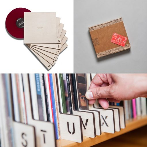 "Kate Koeppel Design 12"" Record Dividers"