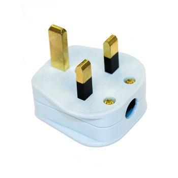Supra Lo Rad Gold Plated UK Mains Plug