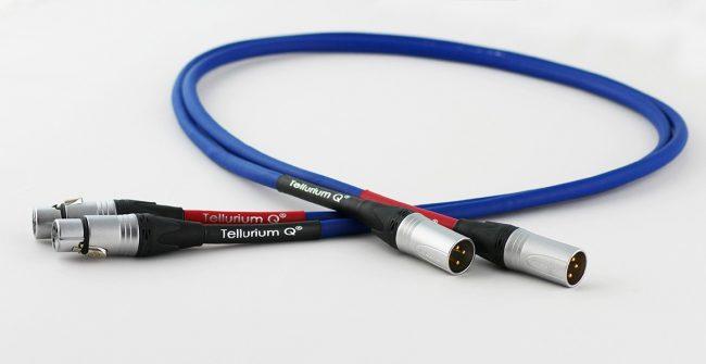 Tellurium Q Blue XLR Interconnects