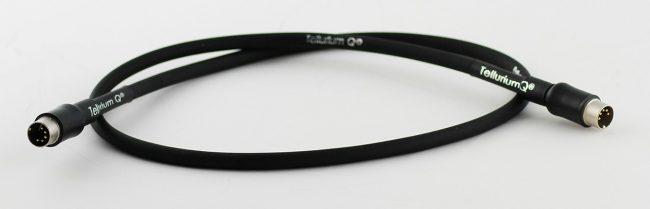 Tellurium Q Black DIN Interconnect Cable for NAIM