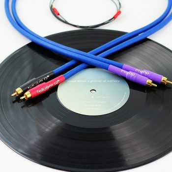 Tellurium Q Blue Phono RCA Interconnects