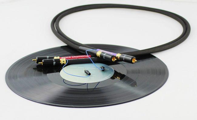 Tellurium Q Black Diamond RCA Cables for Turntables