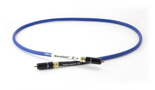Tellurium Q Blue Waveform Digital RCA Interconnect