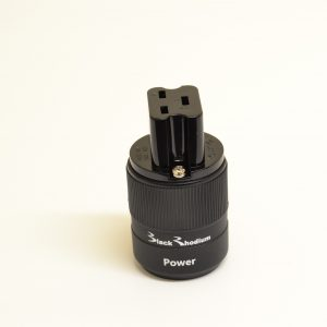 Black Rhodium 16 Amp IEC Connector