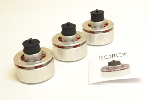 ISONOE ISOLATION SYSTEM FOR REGA TURNTABLES SET OF 3