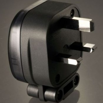 MS HD Power Silver Plated Mains Plug