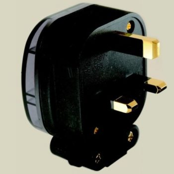 MS HD Power Gold Plated Copper UK Mains Plug