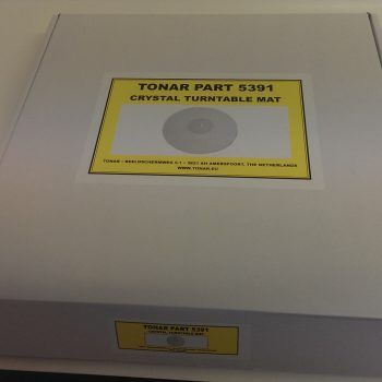 Tonar 5391 Crystal Turntable Mat