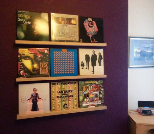 vinyl art lp record storage shelves at mcru rh mcru co uk LP Storage Rack 4-Shelf Vinyl Album Storage Boxes