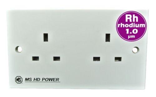 MS HD Power UK Mains Wall Sockets