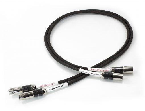 Tellurium Q Silver Diamond XLR Balanced Cables