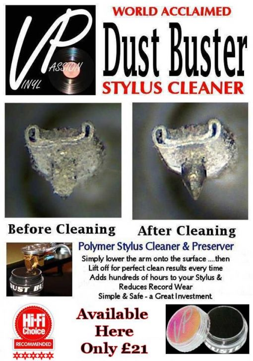 Vinyl Passion Dustbuster Stylus Cleaner