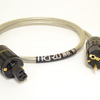 MCRU No.6 EU Power Cord