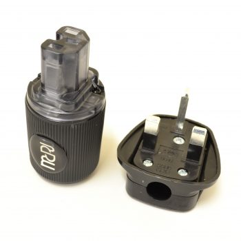 MCRU Ref. IEC + Mains Plug Set