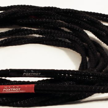 Black Rhodium Foxtrot Loudspeaker Cables at MCRU