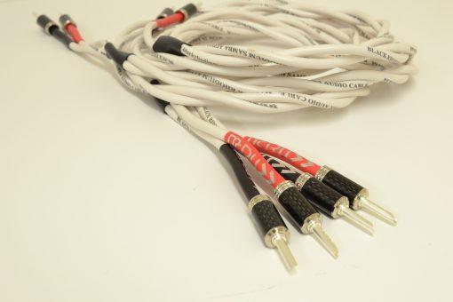 Black Rhodium Samba MCRU Special Edition Speaker Cables