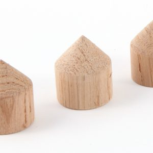 MCRU Oak Cone Feet - Set of 3