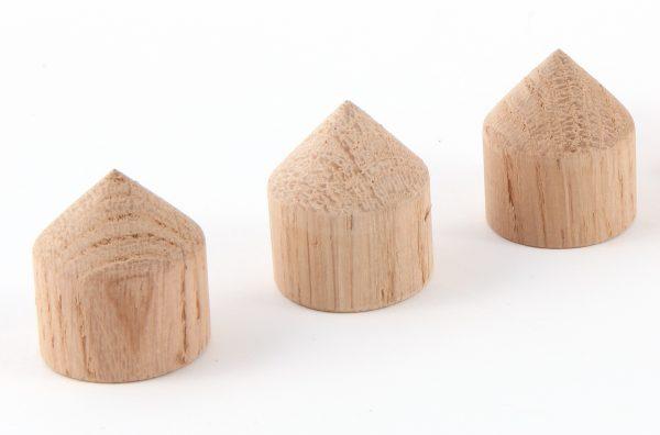 MCRU Oak Cone Feet - Set of 3