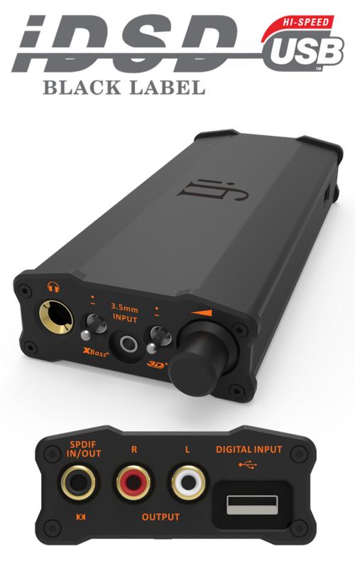 iFI Audio Micro iDSD Black Label DAC
