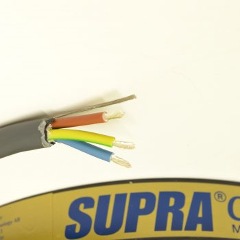 Supra Lo-Rad 2.5mm Silver Plated Mains Cable