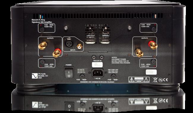 PS Audio BHK 300 Signature Mono Amplifiers
