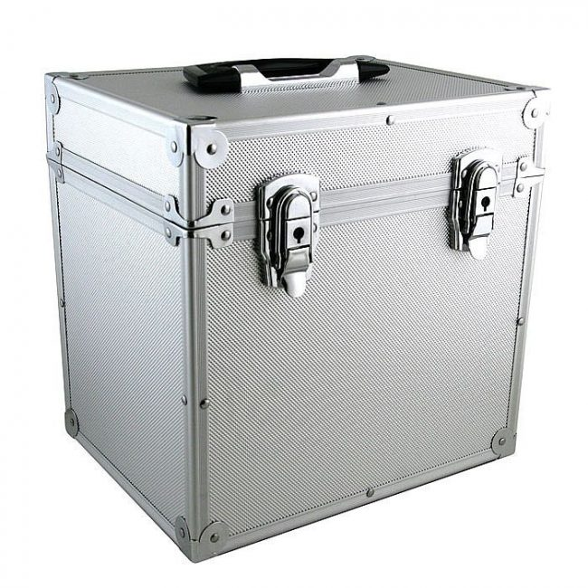 LP Storage Case for Up To 50 LP's