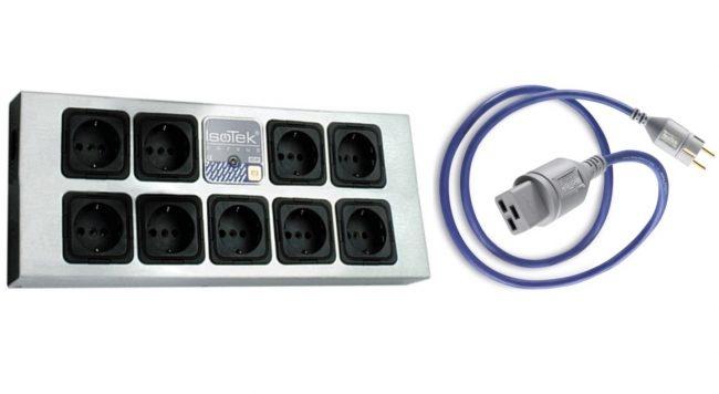 IsoTek EVO3 Corvus Mains Conditioning Block
