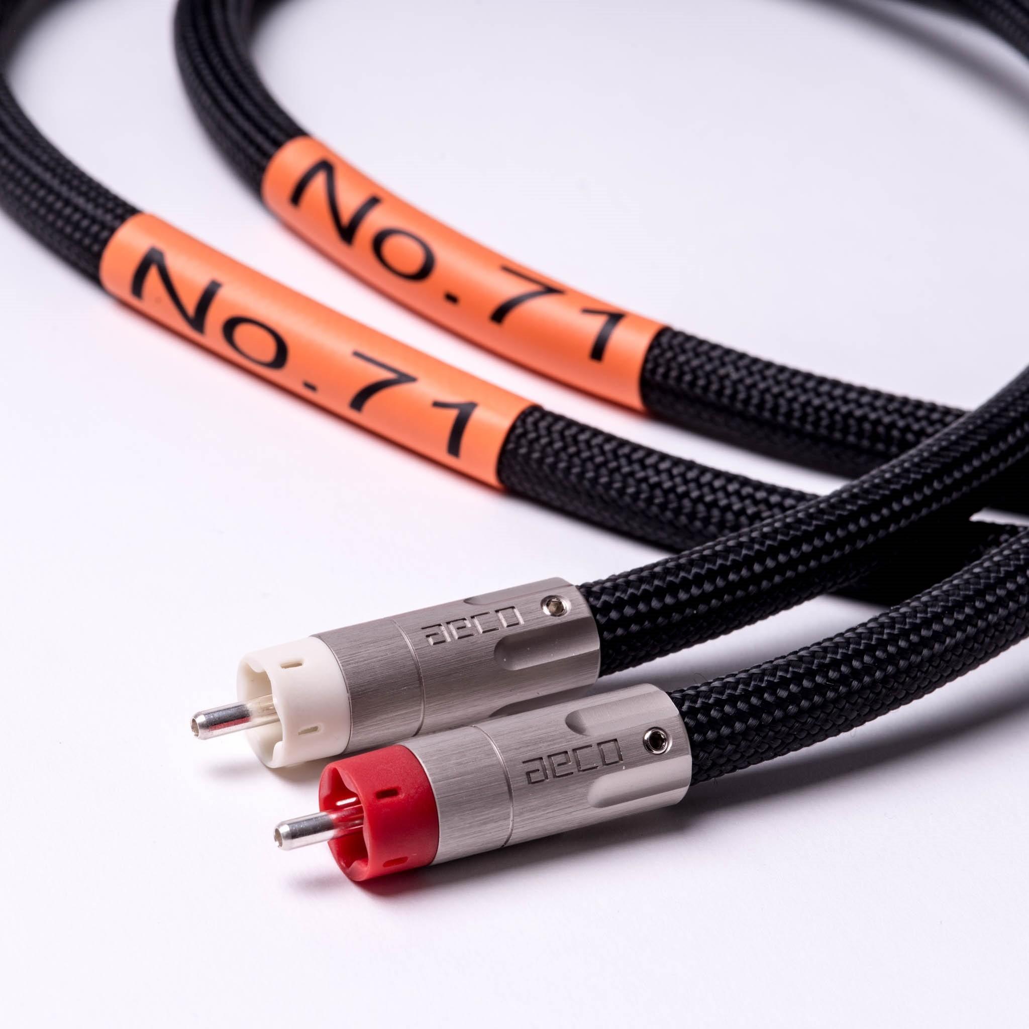 MCRU No.71 RCA Stereo Interconnects - MCRU