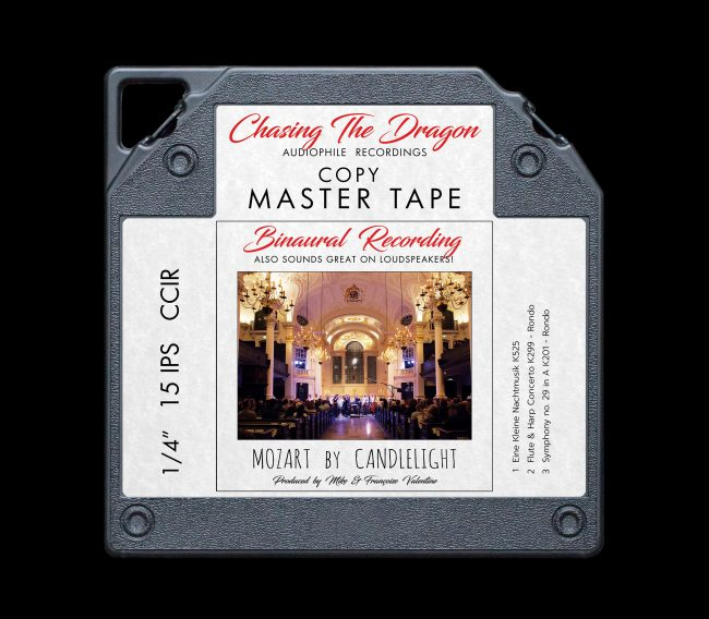 Chasing The Dragon Reel To Reel Copy Master Tapes