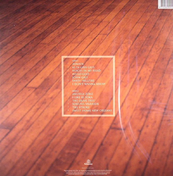 Dr John Anutha Zone Vinyl Lp Mcru