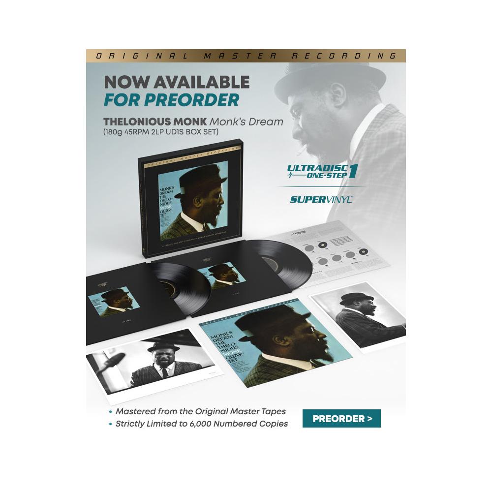 Thelonious Monk - Monk's Dream 180g 45RPM MOFI 2 x LP Box Set - PREORDER